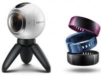 «Samsung Electronics Украина» сообщает о старте продаж Gear 360, Gear Fit2 и Gear IconX