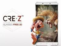CRE.Z 3D — 8-ядерный смартфон в металле с 3D-экраном