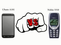 Видео: Краш-тест UHANS A101 и Nokia 3310 - полет с 15-метровой высоты