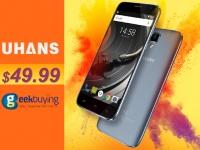Смартфон UHANS A101 всего за $49.99 на Geekbuying