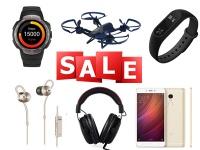 Скидки недели: Смарт-часы и браслеты, квадрокоптеры, смарт-ТВ приставки, наушники и Xiaomi Redmi Note 4