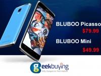 Товар дня: BLUBOO Picasso 4G за $79.99 и BLUBOO Mini за $49.99