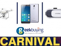Карнавал-распродажа на GeekBuying.com: Тотализатор с призом в $1111 и скидки до 55%
