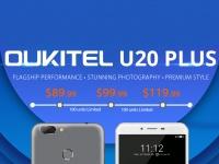 Oukitel U20 Plus – смартфон с двойной камерой от $89.99