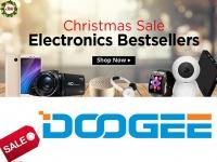 Новогодняя предраспродажа смартфонов DOOGEE: скидки на бестселлеры и бесплатная доставка