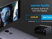 Новогодние цены от Vernee – скидки на смартфоны до $50