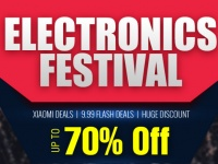 Electronics Festival: скидки до 70% и распродажа по $9.99