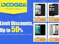 DOOGEE распродаёт смартфоны со скидкой до 50% в честь Дня труда