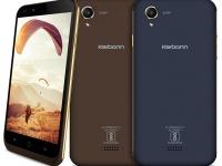 Karbonn Aura 4G — 4-дерный смартфон с HD-экраном и 8Мп камерой за $82