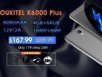 Акция: OUKITEL K6000 Plus всего за $167.99 плюс подарки