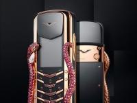 Vertu Signature Cobra – телефон со змеей из рубинов, изумрудов и бриллиантов за $360 тысяч