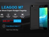 Чехол и скидка в $10 за предзаказ смартфона LEAGOO M7 с двойной камерой