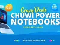 Акция Chuwi: Ноутбук Lapbook 12.3 всего за $319.99 плюс подарки