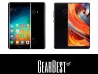 Товар дня: Xiaomi Mi Note 2 - $289.99 и Xiaomi mix2 128gb - $605.99