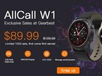 AllCall W1 эксклюзивно представлены в Gearbest с самой низкой предпродажной ценой $89.99!