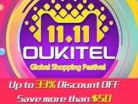 OUKITEL на Фестивале распродажи 1111 предлагает смартфоны от $58.49