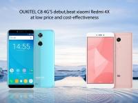 OUKITEL C8 4G против Xiaomi Redmi 4X. Какой из них вы купите?