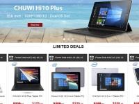 CHUWI уже стартовала на распродаже к Черной Пятнице на Gearbest