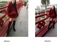 Фотографии с камеры AllCall Madrid сравнили с кадрами сделанными Iphone 6s Plus