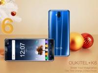 OUKITEL K6 запускают в продажу: процессор Helio P23, аккумулятор емкостью 6300 мАч, Face ID и NFC