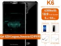 Товар дня: Oukitel K6 со скидкой в $20 за флагман с 6 ГБ ОЗУ и Face ID