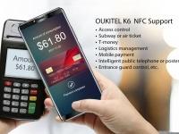 OUKITEL поделилась возможностями NFC в  K6, предпродажа которого начнется на Рождество
