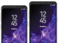 Samsung Galaxy S9 и Galaxy S9+ показались на пресс-рендерах