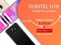 Первый клон iPhone X - OUKITEL U18 стартовал на предпрожаже за за $159.99