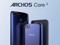 Смартфоны Archos Core 55S, 57S и 60S получили экран с соотношением сторон 18:9