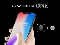 Утечка рендера UMIDIGI One: Выемка вверху дисплея и сканер отпечатков пальцев в кнопке питания