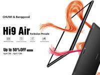 Товар дня: Скидка до 50% на Chuwi Hi9 Air – 10-ядерный планшет с 2K дисплеем и LTE