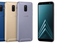 Смартфоны Samsung Galaxy A6 и A6+ представлены официально