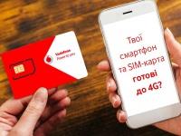 Mиллион клиентов Vodafone воспользовались 4G в первый месяц