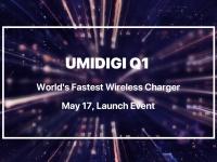 UMIDIGI Q1 – самое быстрое беспроводное зарядное устройство в мире – будет анонсировано 17 мая