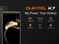 OUKITEL K7 с батареей на 10000 мАч показали в видео и раскрыли все его характеристики
