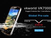 Защищенный и плавающий смартфон Vkworld VK7000 оценили в $149.99 и укомплектовали беспроводной зарядкой