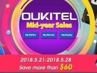 Большая распродажа смартфонов Oukitel на Banggood с ценами от $99.99