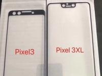 Предполагаемый дизайн Google Pixel 3 и Pixel 3 XL на фото