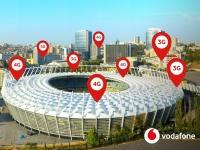 Во время финала Лиги Чемпионов клиенты Vodafone отдавали предпочтение 4G и установили рекорд трафика