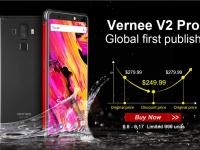 Товар дня: Vernee V2 Pro за $249.99 и робот-пылесос XIAOMI MIJIA ROBOROCK S50 - $449.99