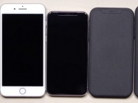 Макеты iPhone X Plus и бюджетного iPhone X в сравнении с iPhone 8 Plus