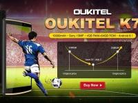 OUKITEL K7 продается по акционной цене в Gearbest за $159.99