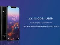 UMIDIGI Z2 открывает глобальную распродажу. Старт сегодня со скидкой 50$