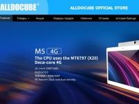 Открыт официальный магазин ALLDOCUBE Store: всем предлагается купон на $5 до 6 августа 2018 года