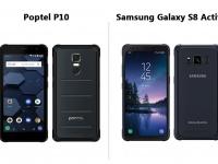 POPTEL P10 - защищенный смартфон со скидкой в $45 на предзаказе, который круче  Samsung Galaxy S8 Active