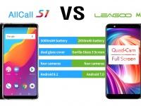 AllCall S1 VS Leagoo M9: кто их них лучший бюджетный смартфон?