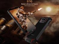 Первый в мире смартфон с эффективной системой охлаждения - DOOGEE S70 с подключаемым геймпадом