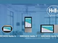 Умные дисплеи Archos Hello 5, 7 и 10 сочетают помощник Google с полноценной ОС Android 8.1