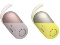 Беспроводные наушники с шумоподавлением и защитой от брызг Sony WF-SP700N, WI-SP600N уже в Украине
