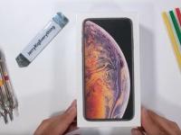 Видео дня: iPhone XS Max прошёл тест на прочность у JerryRigEverything
